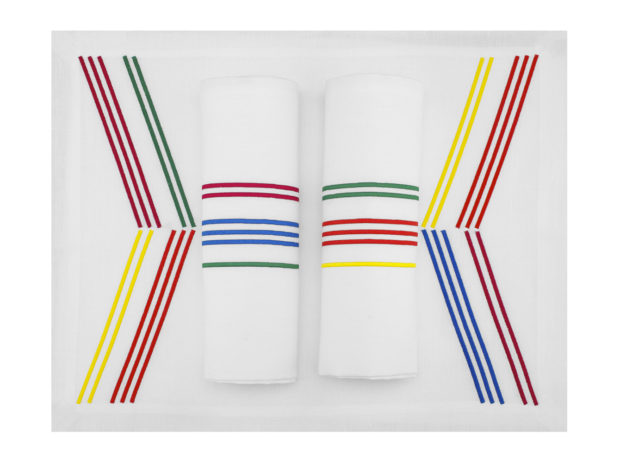 bayadere-couleurs-eclatantes-2-linge-de-table-set-serviette-LIN-BRODE-FRANCE-MARIE-DE-FELS